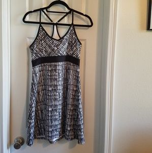 Tehama Black and White Athletic Dress